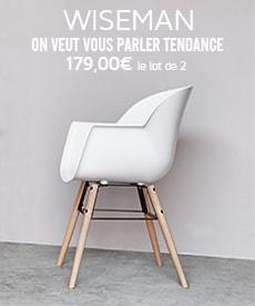 chaise design wiseman