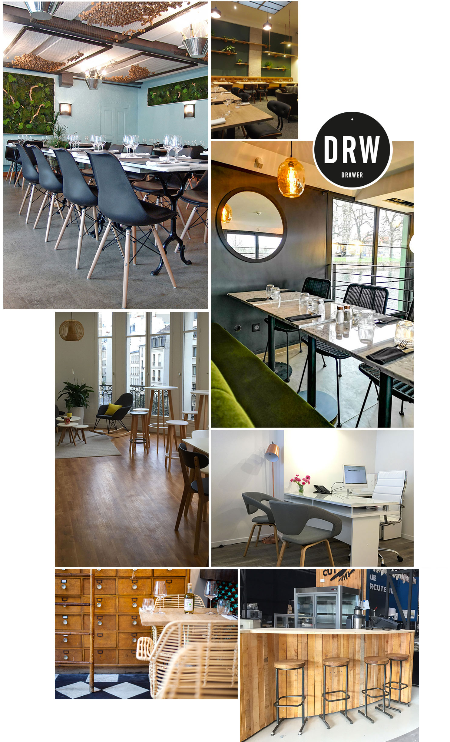 service professionnel meuble design