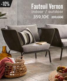 fauteuil jardin design vernon