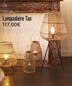 lampadaire design bambou tao pomax
