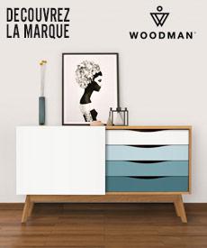 marque woodman meubles bois design