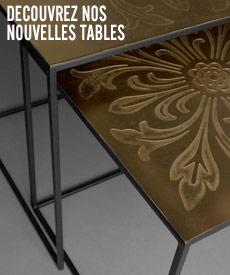 Nouveautés tables design
