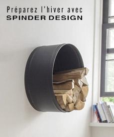 rangement spinder design