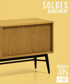 Soldes meubles rangement design