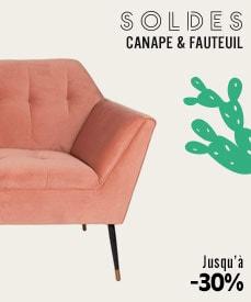 Soldes canapé et fauteuils design