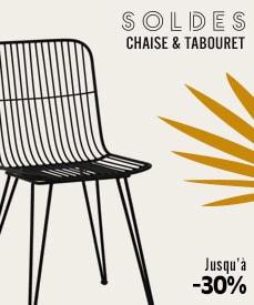 soldes chaises et tabourets design