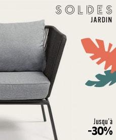 Soldes mobilier jardin design