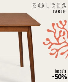 Soldes tables design