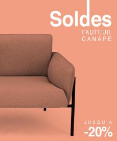 soldes canapé fauteuil design