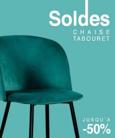 soldes chaises tabourets design