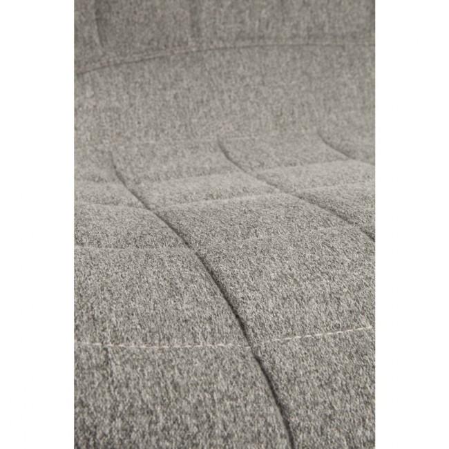 detail tissu gris