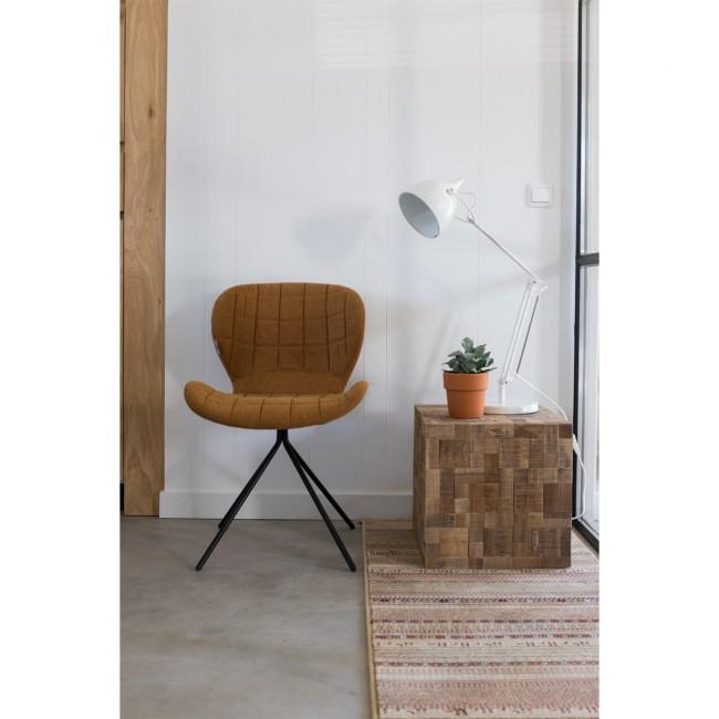 Lot de 2 chaises design OMG orange ambiance
