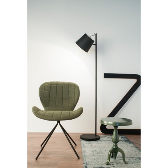 Lampadaire Buckle Head gris ambiance 1