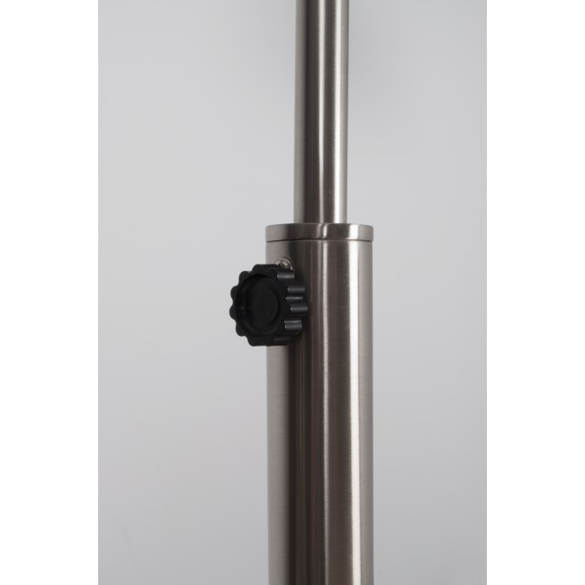 Lampadaire design chrome BOW