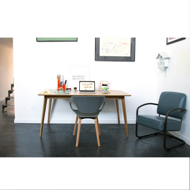 Lot de 2 chaises design scandinave Danwood
