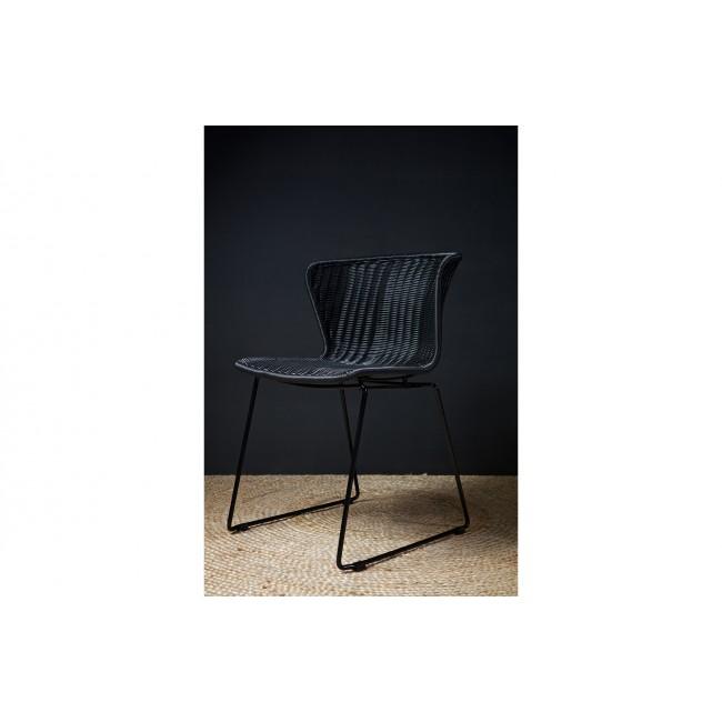 Lot de 2 chaises indoor/outdoor rotin tressé Wings