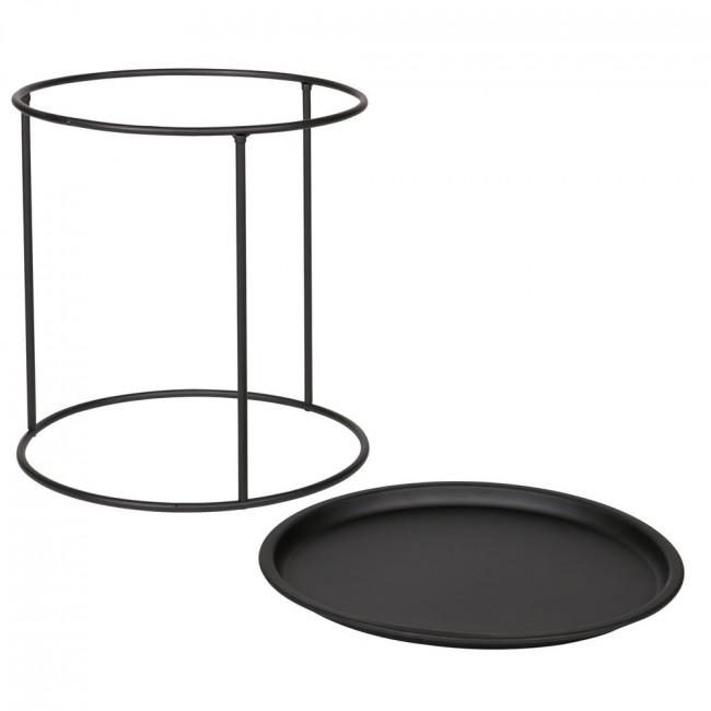 Table basse plateau amovible métal M Ivar