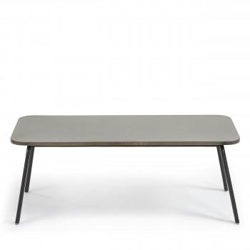 Table basse métal et ciment indoor/outdoor Vernon