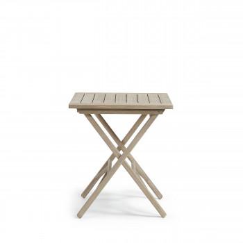 Table pliante en bois 70x70 indoor/outdoor Rowing
