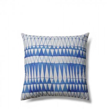 Coussin tissu à motifs 45x45 indoor/outdoor Pylos