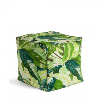 Pouf à motifs 45x45 indoor/outdoor Jungle