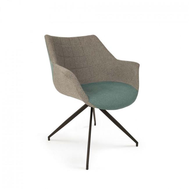 Lot de 2 fauteuils design Doulton bleu