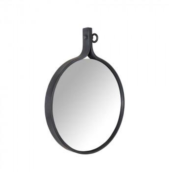 Miroir métal industriel Attractif Dutch Bone par Drawer