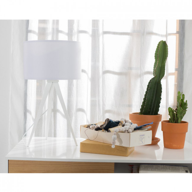 Lampe à poser Tripod laque Mini noire