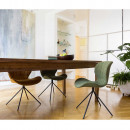 Lot de 2 chaises design OMG grises