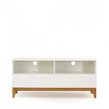 Meuble TV design scandinave Blanco Wide