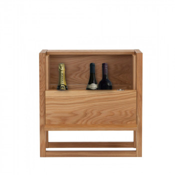 Mini bar design bois massif NewEst