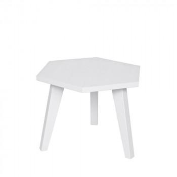 Table d'appoint hexagonale bois FSC France