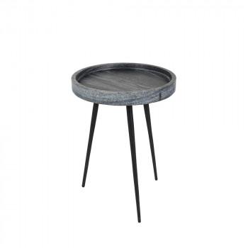Table d'appoint marbre poli Karrara