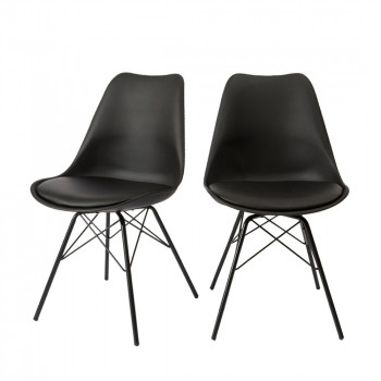 Lot de 2 chaises design Ormond Light