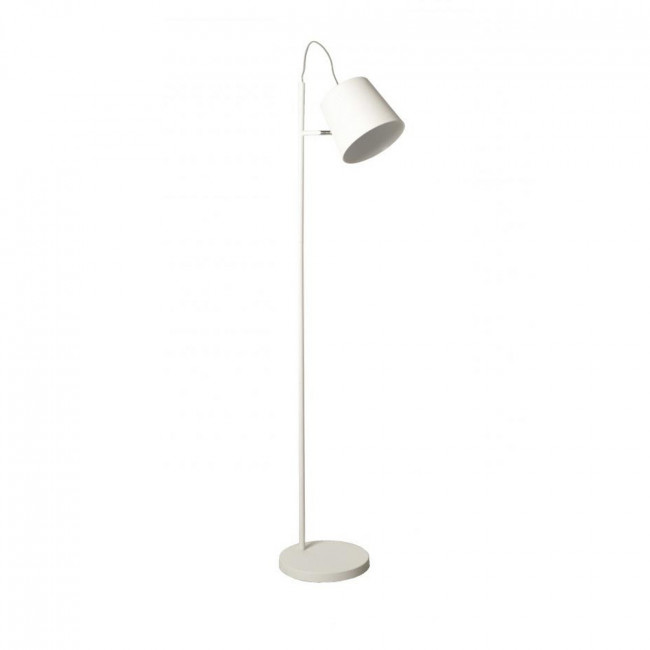 Lampadaire Buckle Head blanc