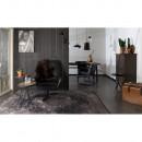 Fauteuil pivotant lounge Don noir de Dutchbone Noir