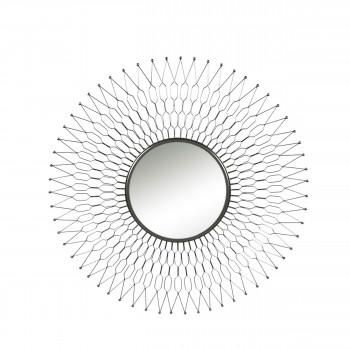 Miroir en métal ø104cm Sun