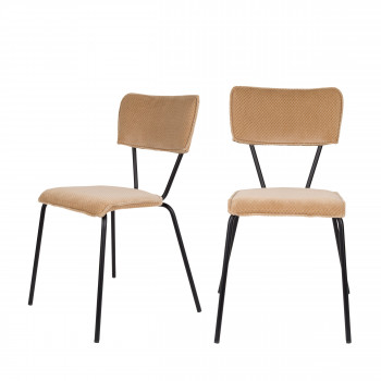 Lot de 2 chaises Melonie Dutchbone