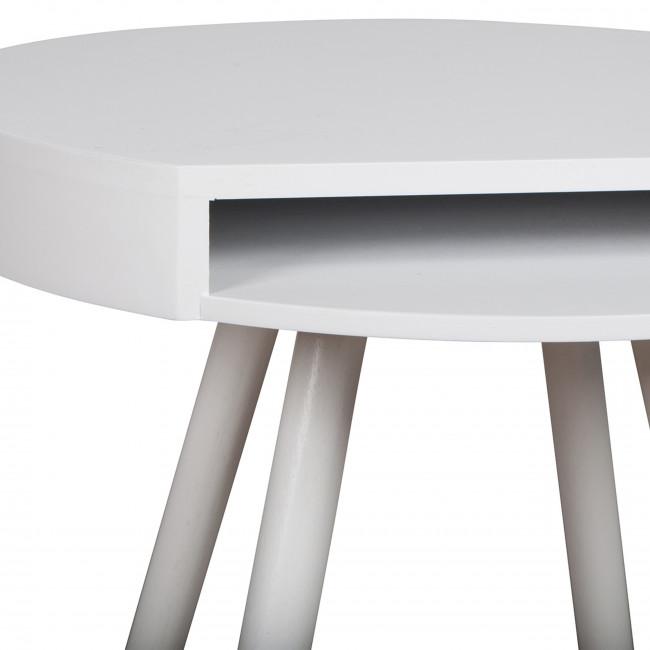 Table d'appoint vide-poche Hide & Seek jaune