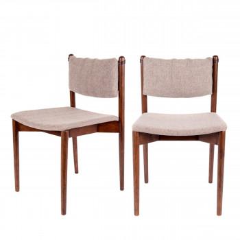 Lot de 2 chaises Torrance Dutchbone
