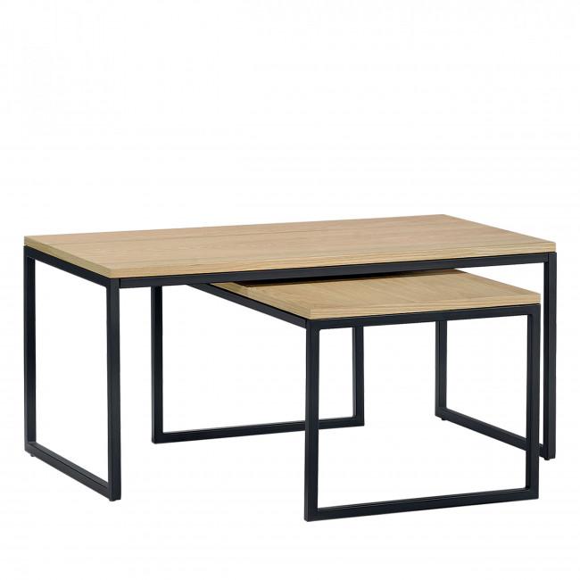 Lot 2 tables basses Temmelig