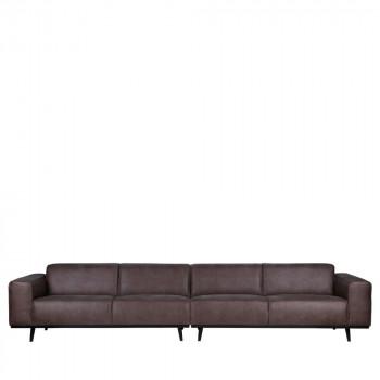 Canapé 6 places en simili cuir XL Statement