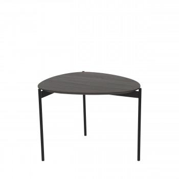 Table basse en métal et bois M Guillaume Pomax