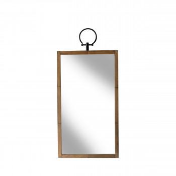 Miroir rectangle en bois Glory Redcartel
