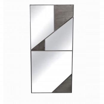 Miroir en métal Boreal Redcartel