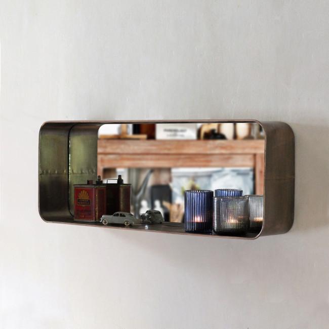Miroir en métal Elton Redcartel