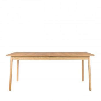 Table à manger extensible en bois 180-240x90 cm Glimps