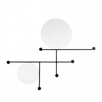 Miroir design en métal L Norha