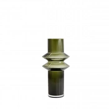 Vase design en verre M Rilla