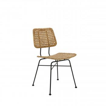 Chaise en rotin Ten Arlo